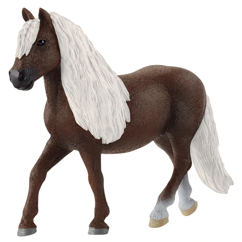 Schleich Farm Life Friesian Stallion Horse Figure NEW