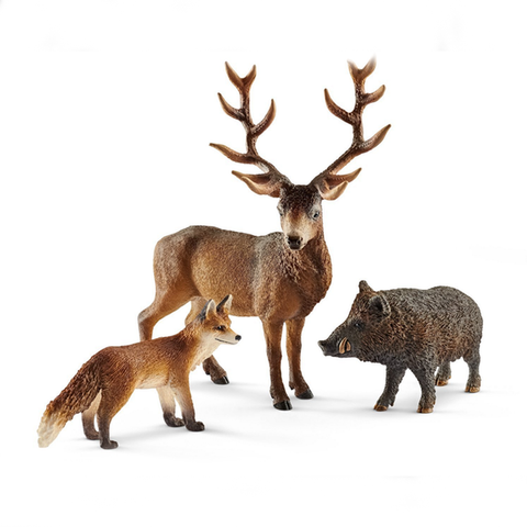 Schleich Forest Dwellers Pack European 41458