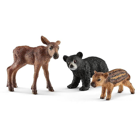 Schleich Forest Animal Babies 41457