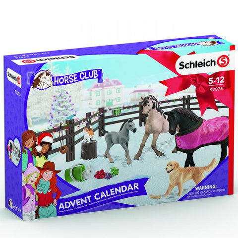 Schleich Horse Club Advent Calendar 97875