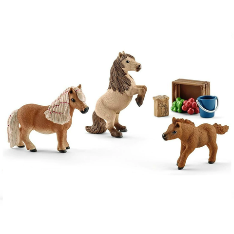 Schleich Mini Shetty Family 41432