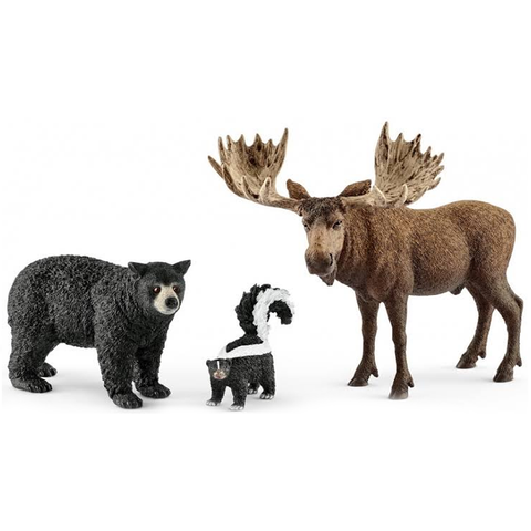 Schleich Forest Dwellers Pack North American 41456
