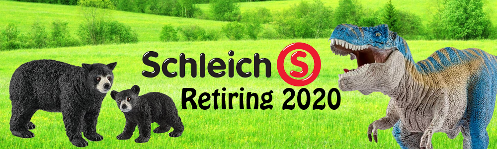 Schleich retiring 2020 Schleich retired