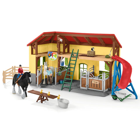 Schleich Shire Stables 42485