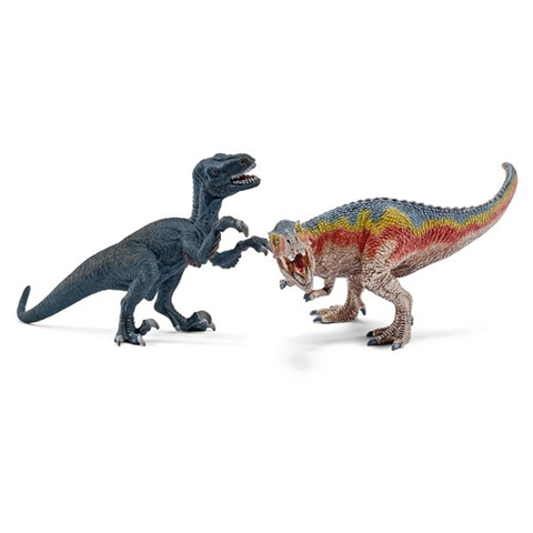 T-Rex and Velociraptor, small 42216