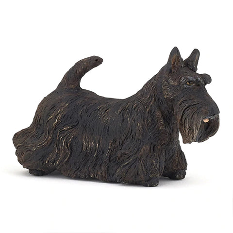 Papo Black Scottish Terrier 54032 Papo Retiring 2019 Papo Retired 2019 Animal Kingdoms nz Papo nz