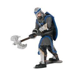 Limited Edition Dragon Knight Blue with Battle Axe  Schleich 72030  Introduced: 2014; Retired: 2015