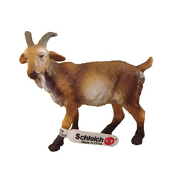 Special Edition Billy Goat  Schleich 82717   Introduced: 1990s?; Retired: 1990s?  This is a special color variation of Schleich 13223 Brown Billy Goat