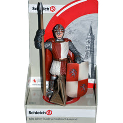 Special Edition Gmünd Town Watch  Schleich 82824  Introduced: 2012; Retired: 2012  Produced at the 850 year's jubilee for Schwäbish Gmünd