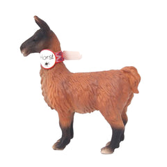Special Edition Horst, Brown Llama  Schleich 82759  Introduced: 2009; Retired: 2009  Produced for the Leipzig Zoo