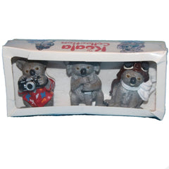 Special Edition Three koalas  Schleich 14000   Introduced: ; Retired:  Produced for Qantas airlines