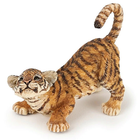 Papo Tiger Cub playing 50183 Papo Retiring 2019 Papo nz Animal Kingdoms nz