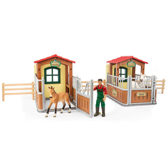 Schleich Visit in the open stable Limited Edition 72116