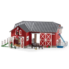 Limited Edition Large farm with Black Angus  Schleich 72102