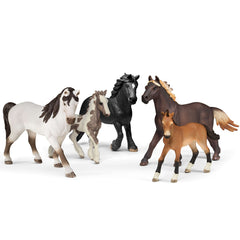 Schleich 5 Horses Collectors Pack Limited Edition 72113