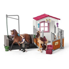 Special Edition Schleich Wash Area and Horse Stall  Schleich 42404