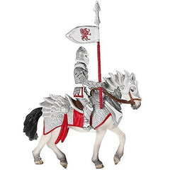 Special Edition Griffon Knight Red on Horse with Lance  Schleich 72034  Introduced: 2014;  Retired: 2015
