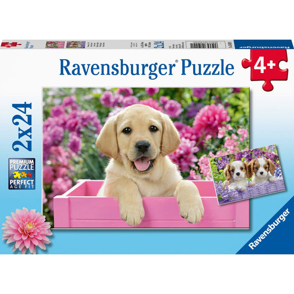 Ravensburger Me and My Pal 2x24pc - AnimalKingdoms.co.nz