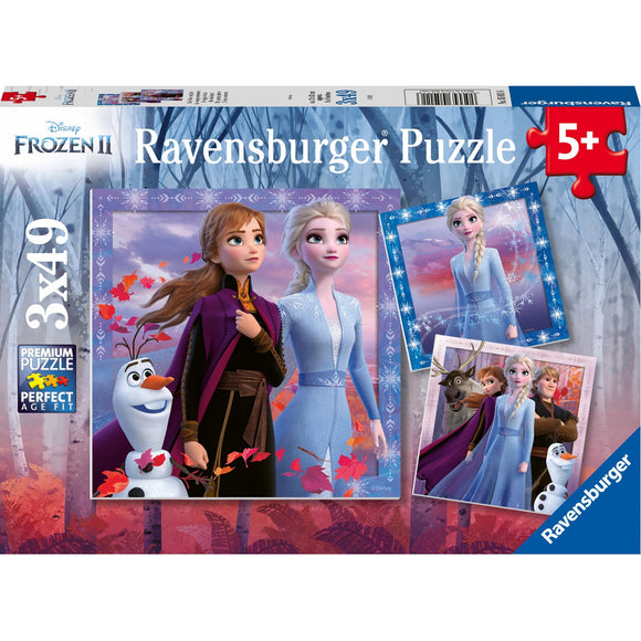 Ravensburger Frozen 2 The Journey Starts 3x49pc-RB05011-6-Animal Kingdoms Toy Store