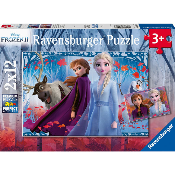 Ravensburger Frozen 2 Journey to the Unknown 2x12pc-RB05009-3-Animal Kingdoms Toy Store