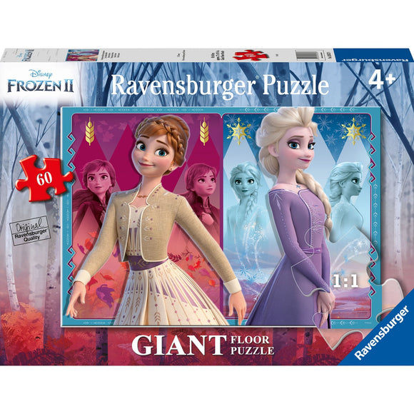 Ravensburger Frozen 2 Devoted Sisters 60pc-RB03037-8-Animal Kingdoms Toy Store