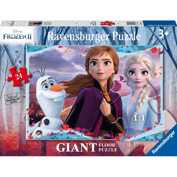 Ravensburger Frozen 2 Enchanting New World 24pc-RB03036-1-Animal Kingdoms Toy Store