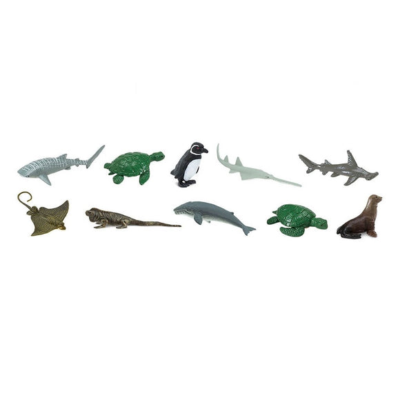 Safari Ltd Endangered Species - Marine Toob-SAF100110-Animal Kingdoms Toy Store