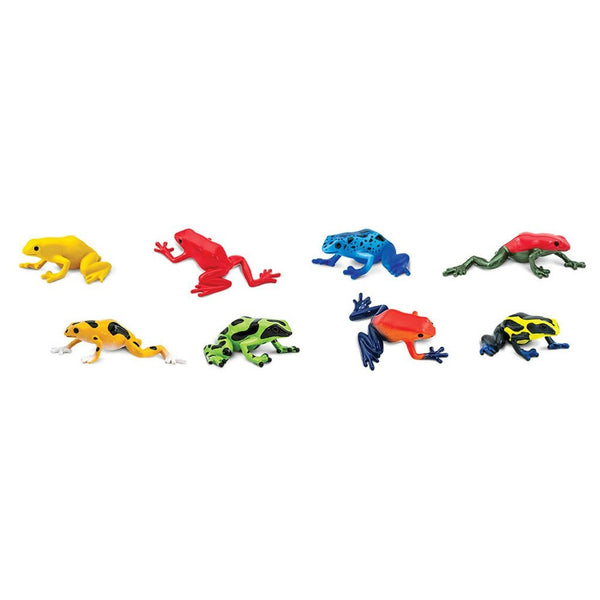 Safari Ltd Poison Dart Frogs Toob - AnimalKingdoms.co.nz