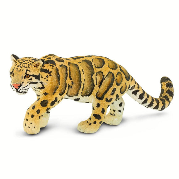 Safari Ltd Clouded Leopard-SAF100239-Animal Kingdoms Toy Store