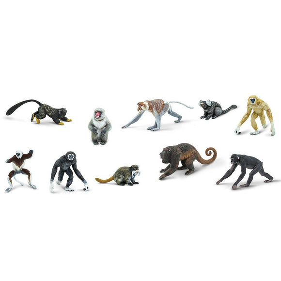 Safari Ltd Primates Toob-SAF100323-Animal Kingdoms Toy Store