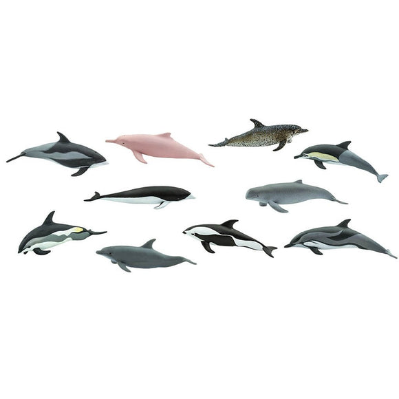 Safari Ltd Dolphins Toob-SAF100475-Animal Kingdoms Toy Store