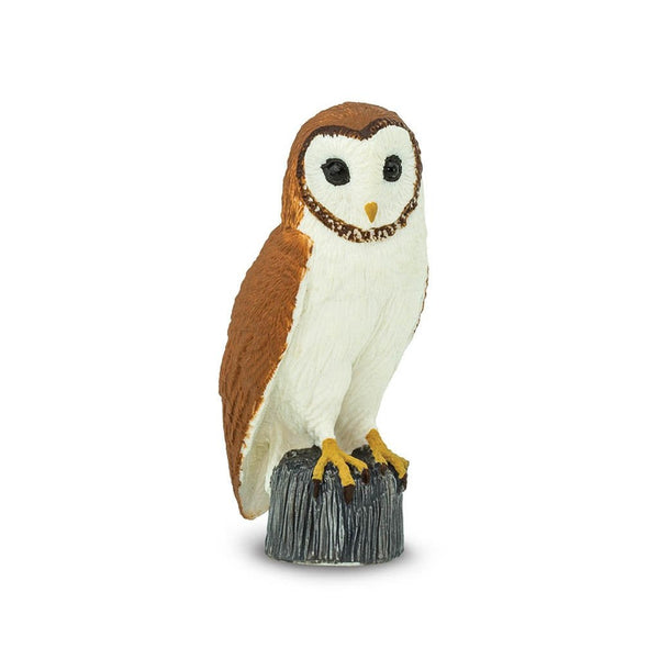 Safari Ltd Barn Owl-SAF150029-Animal Kingdoms Toy Store