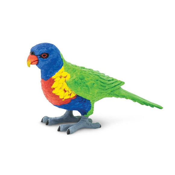 Safari Ltd Lorikeet - AnimalKingdoms.co.nz