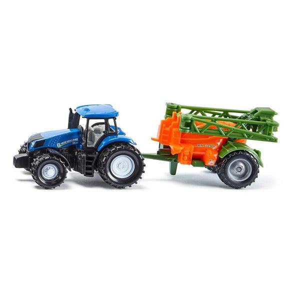 Siku New Holland T8.390 with Crop Sprayer-SKU1668-Animal Kingdoms Toy Store