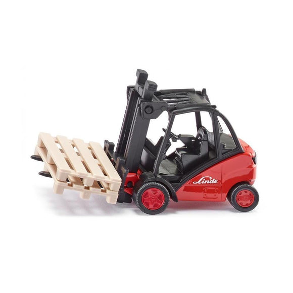Siku 1:50 Linde Forklift-SKU1722-Animal Kingdoms Toy Store