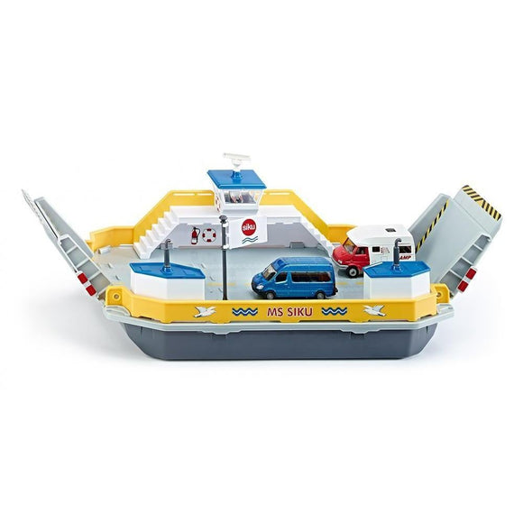 Siku 1:50 Car Ferry & 2 Vans-SKU1750-Animal Kingdoms Toy Store