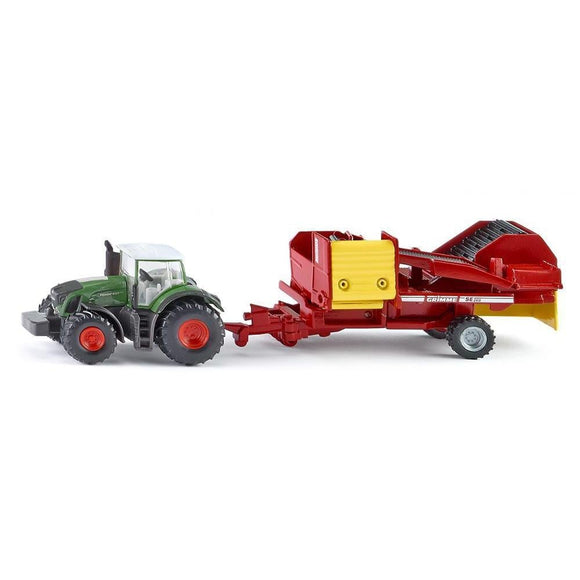 Siku 1:87 Fendt 939 with Potato Harvester-SKU1808-Animal Kingdoms Toy Store