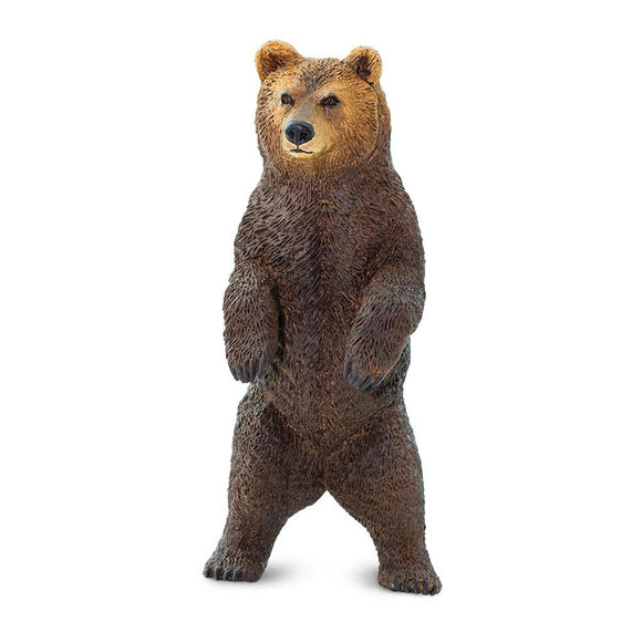 Safari Ltd Grizzly Bear-SAF181729-Animal Kingdoms Toy Store