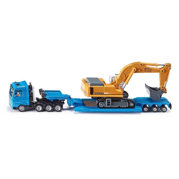 Siku 1:87 MAN TG-A Loader & Liebherr 974-SKU1847-Animal Kingdoms Toy Store