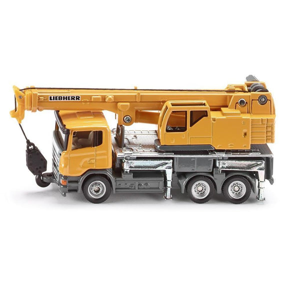 Siku 1:87 Liebherr Telescopic CraneTruck-SKU1859-Animal Kingdoms Toy Store