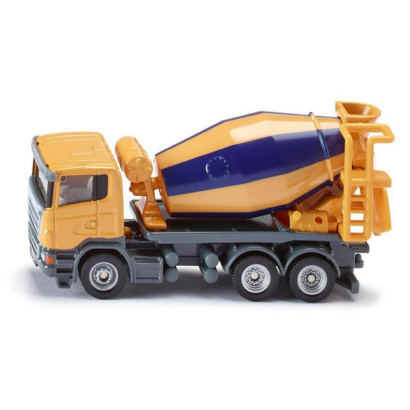 Siku 1:87 Scania Cement Mixer Truck-SKU1896-Animal Kingdoms Toy Store