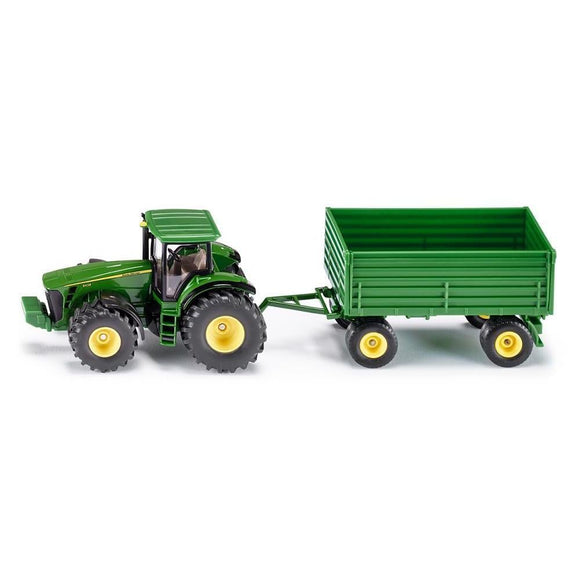 Siku 1:50 John Deere 8430 with Tipping Trailer-SKU1953-Animal Kingdoms Toy Store