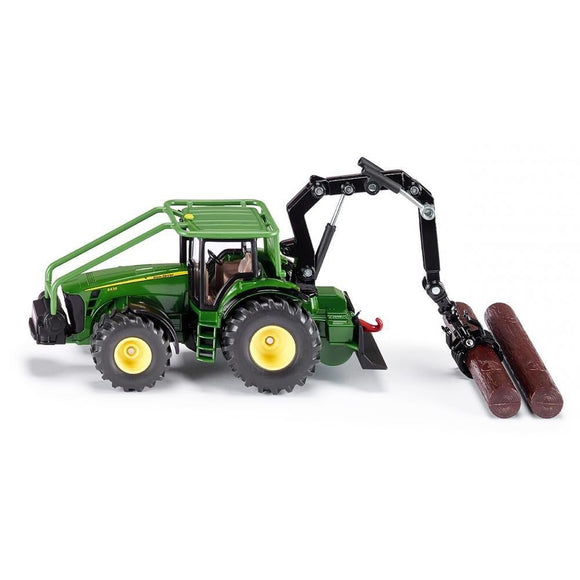Siku 1:50 John Deere 8430 Forestry Tractor-SKU1974-Animal Kingdoms Toy Store