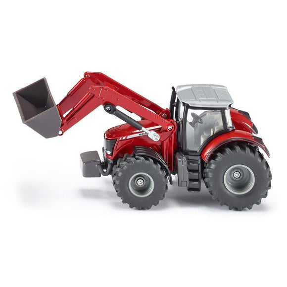 Siku 1:50 Massey Ferguson 8690 with Front Loader-SKU1985-Animal Kingdoms Toy Store