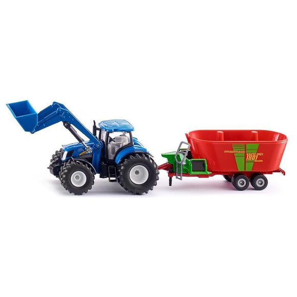 Siku 1:50 New Holland T7070 with Front Loader-SKU1988-Animal Kingdoms Toy Store