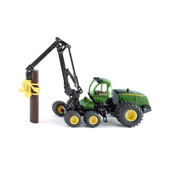 Siku 1:50 John Deere 1570E Forestry Harvester-SKU1994-Animal Kingdoms Toy Store