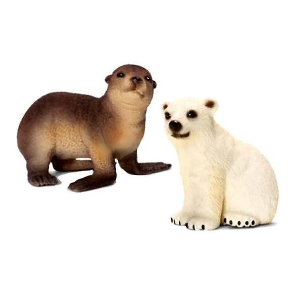 Wild Life Babies - Polar Bear and Sea Lion