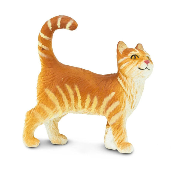 Safari Ltd Tabby Cat-SAF235529-Animal Kingdoms Toy Store