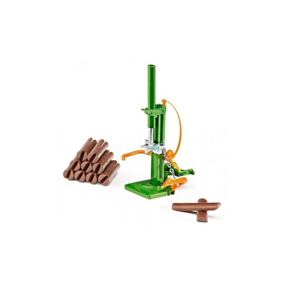 Siku 1:32 Wood Splitter with Splitable Logs-SKU2468-Animal Kingdoms Toy Store