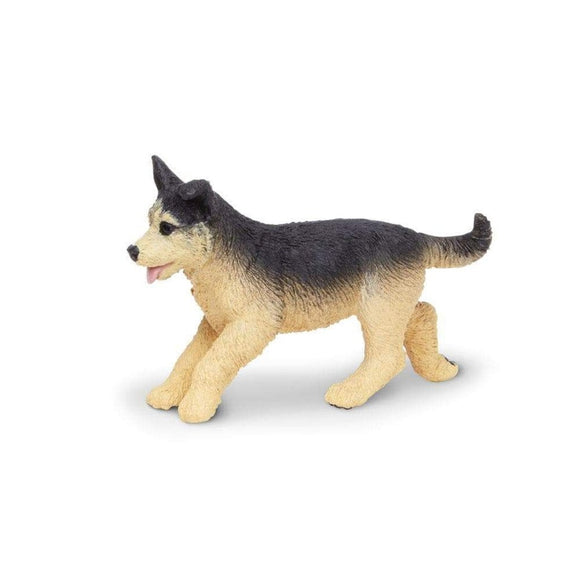 Safari Ltd German Shepherd Puppy-SAF251929-Animal Kingdoms Toy Store